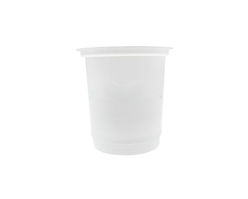 400ml White Cups