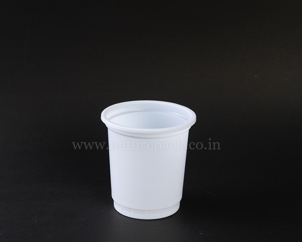 400ml White Cup