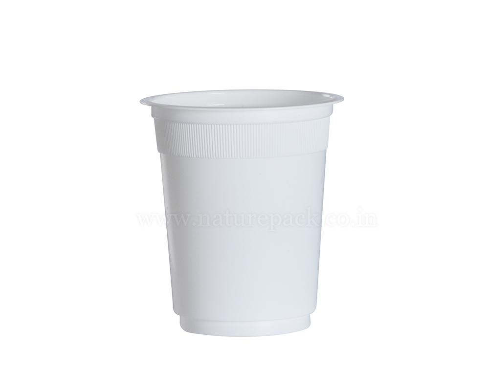 250ml White Cups