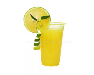 300ml Yellow cups