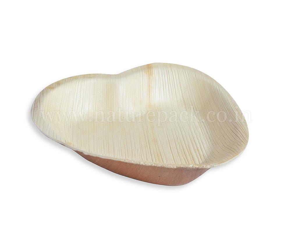 Heart Shape Leaf Plate