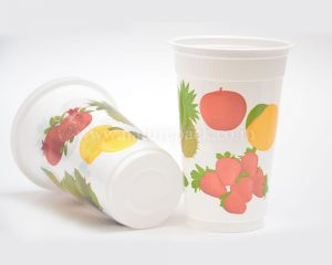 300ml Fruit Design Cup