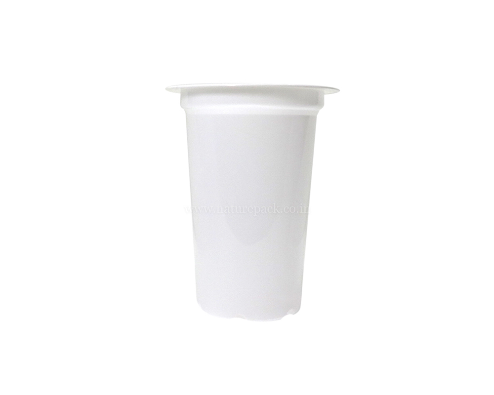 200ml White Cups