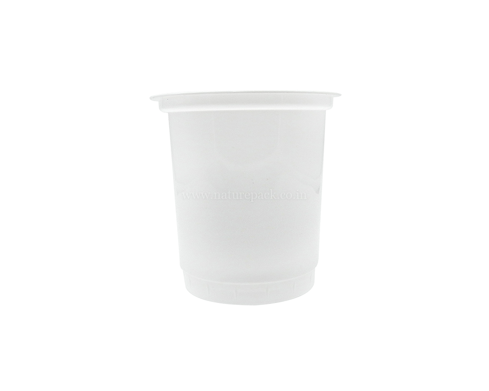 400ml White Cups
