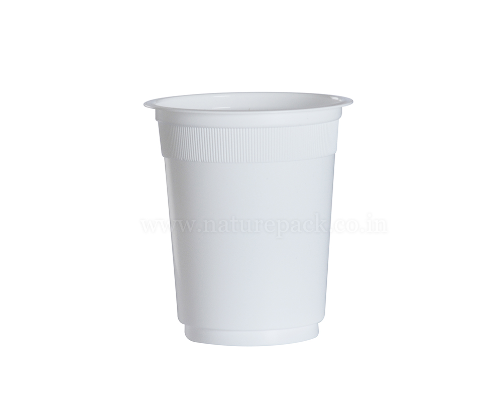 250ml White Cups