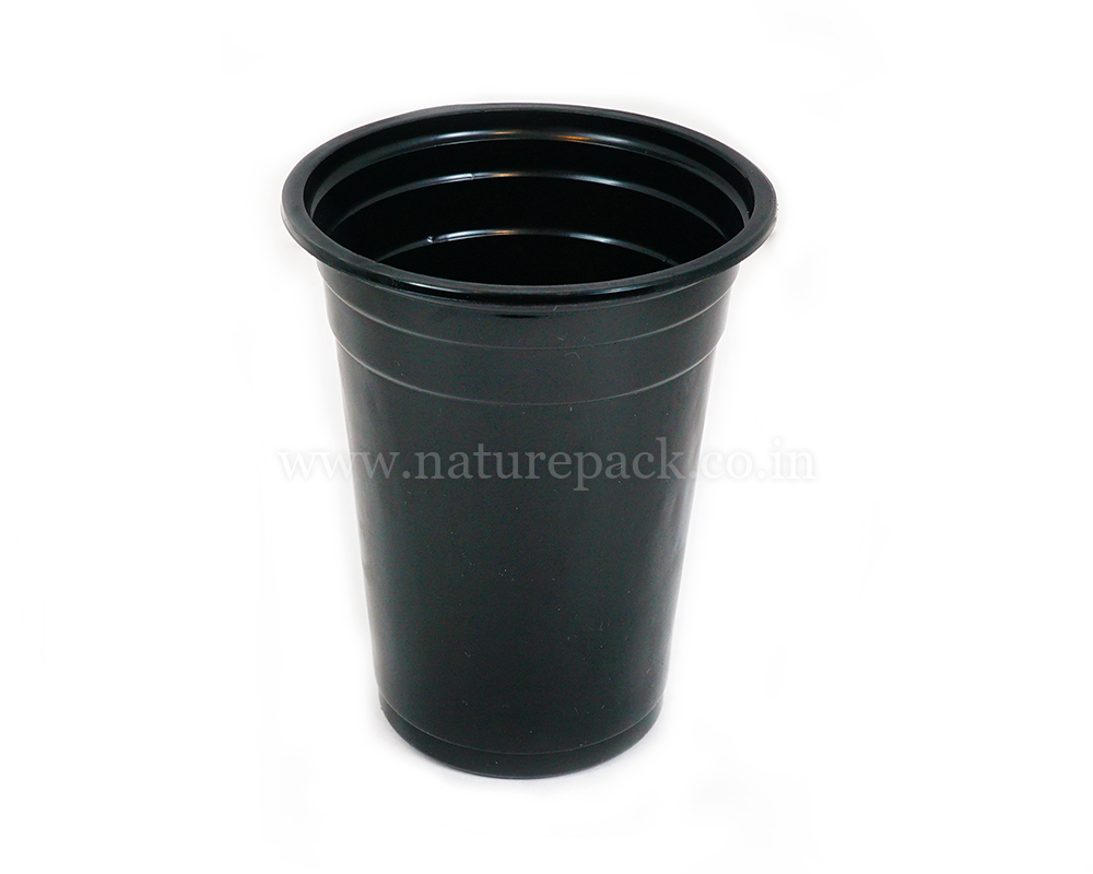 400ml Black Cup