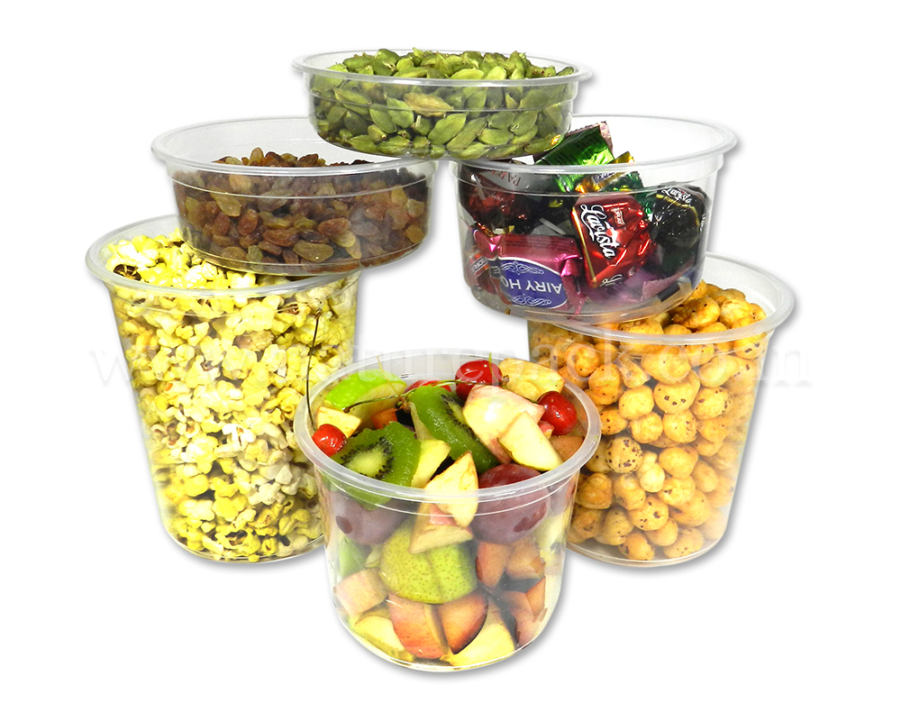 Degradable Round Food Container